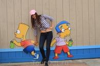 Вот так я прикоснулась к культовому персонажу Барту Симпсону