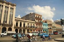перемещения по Гаване, возле Капитолия