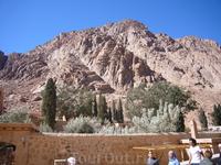 Гора Синай  имеет высоту 2285 м над уровнем моря. Существует версия, что это та самая гора Хорив, на вершине которой Господь явил пророку Моисею свое откровение в виде десяти заповедей.