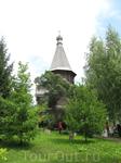 Спасо-Прилуцкий монастырь. Успенская церковь Александро-Куштского монастыря (деревянная, ей уже 500 лет!). Монастырь сохраняет эту церковь