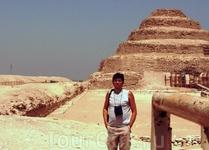 Пирамида Джосера в Саккаре.