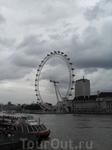 Вид на London Eye c Вестминстерского моста