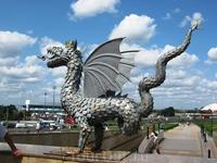 символ Казани - крылатый дракон Зилант