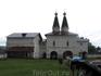 Внутри Ферапонтова монастыря
