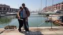 К сожалению купаться в море Лигурии нельзя. Так как Генуя это город порт, и совсем недалеко от маааленьких катеров, ходят круизные лайнеры... так что глубина ...