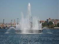 фонтанчик в море ))