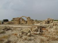 Археологический  парк в Пафосе открыт ))))... до вечера