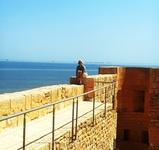 крепость Мустафы , в окрестностях города Хумт-Сука. ТУНИС -ДЖЕРБА