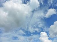 И снова невероятные облака