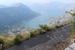 Вид на Боко-Которский залив.Очень узкий серпантин состоящий из 25 поворотов на 180 градусов ,а когда едешь аж дух захватывает!