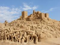 Фестиваль песчаных скульптур в Альбуфейре
