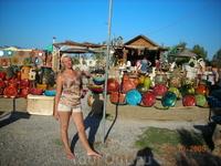 Рынок недалеко от нашего местечка
