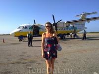 На этом чуде малой авиации - я добралась за 30 минут до о. Кайо-Ларго в Карибском море...