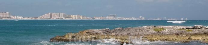 панорама Канкуна