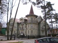 Дома на Juras iela в Юрмале