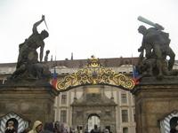 Пражский Град. У ворот Королевского дворца