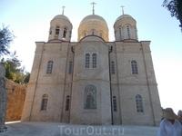 Иерусалим, православный Горненский монастырь, верхний храм