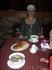 Заказали в Амшенском дворе хашламу и еку - приготовлено небрежно и не очень вкусно.Вкусным был лаваш.