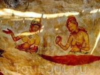 Галерея фресок Сигирии