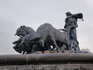 """Знаменитый фонтан """"Гефион"""". Скульптору удалось передать трагизм и пафос древнескандинавского мифа. Мощь и величие богини унаследовал такой же независимый ..."""