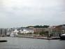 С борта судна фотографирую Хельсинборг