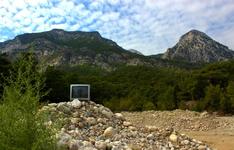 мусор в горах