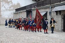 Построение войск в Северном дворе