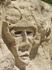 Портрет на скале.
