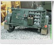 """Это не совсем """"мотор войны"""", но всё же. Артиллерийский прицеп из Великобритании (или из США?)."""