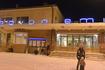 Возвращение домой из Лапландии на Полярном экспрессе