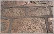 пронумерованные блоки на смотровой площадке  МОН СЕН-МИШЕЛЬ ( Mont Saint-Michel )