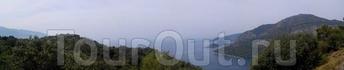 вид сверху с ликийской тропы