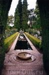 В садах Альгамбры
