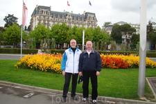 Набережная. Отель Anne-Sophie Pic и один из лучших отелей Европы Beau-Rivage Palace
