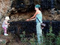 Водопады в Термах