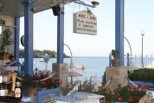 Ближайший к нашему отелю ресторанчик-таверна Кри Кри. Читала о нём хорошие отзывы на туристических сайтах - оправдал! Все красиво, вкусно, иногда готовит ...