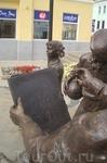Скульптура на Торговой улице