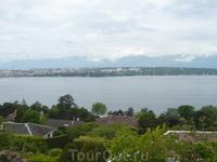 Женевское озеро с Востока