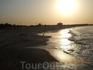 Закат на пляже Яффо