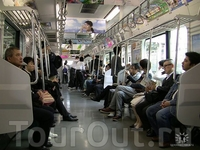 в наземном метро