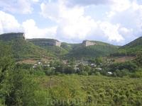По дороге в Большой каньон Крыма