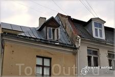 Старые крыши старых домой