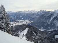 Панорама гор с Россфельда.