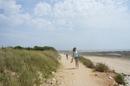 Прогулялись вдоль берега Атлантического океана и посмотрели на отлив