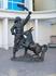 Памятник Иванушке и Коньку-Горбунку у здания Астраханского ТЮЗа.Расположен ТЮЗ на улице Мусы Джалиля