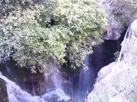 шум воды нависающая зелень-все завораживает.