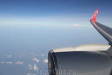 самолёт   прямой из зимы в лето