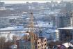 вид на город с крыши дома по ул. К.Иванова