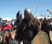 Старая Ладога. 1150 лет государственности Руси. Суровые ребята