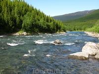 Необыкновенной чистоты горные реки.